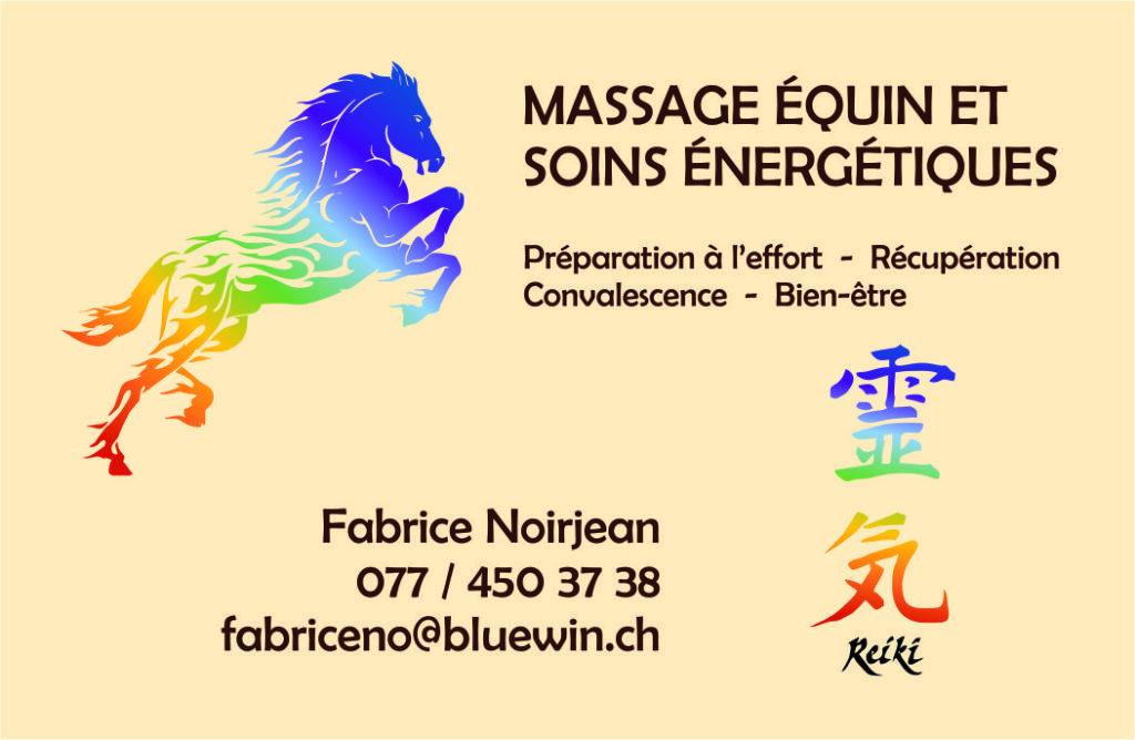 Massage équin et soins énergétiques